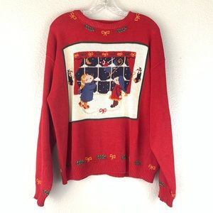 Woolrich Vintage Christmas Mouse Sweater